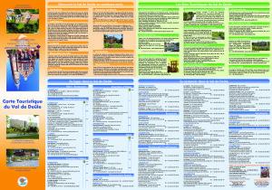 Carte touristique 2