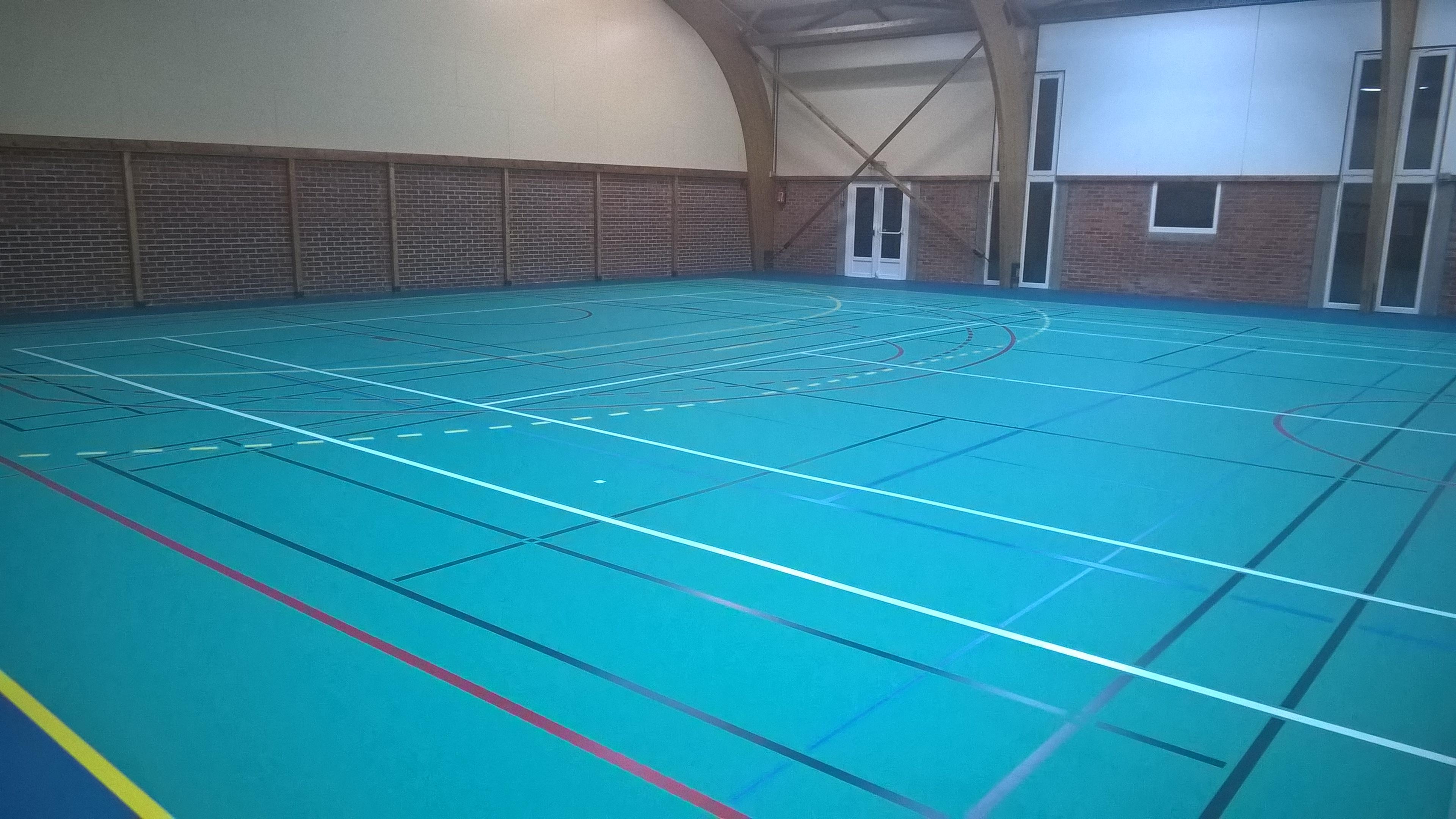 Sol Pour Salle De Sport un nouveau sol pour la salle des sports de lompret – lompret